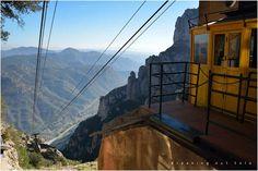 Montserrat cable car - Aeri de Montserrat