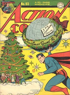 Superman Brings Christmas to the Afterlife of the People He's Killed.