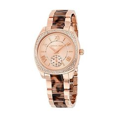 Michael Kors Womens Bryn TwoTone Watch MK6276 -- Visit the image link more details.