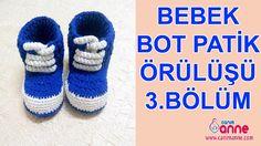 Bebek Bot Patik Nasıl Örülür 3.Bölüm  http://www.canimanne.com/bebek-bot-patik-nasil-orulur-3-bolum.html Bebek Bot Patik Nasıl Örülür 3.Bölüm