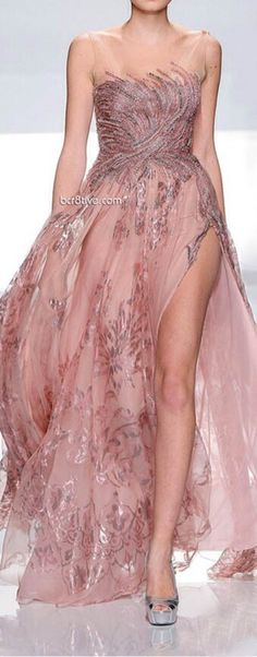 Dress. Love this, but could do without the high slit up the side.