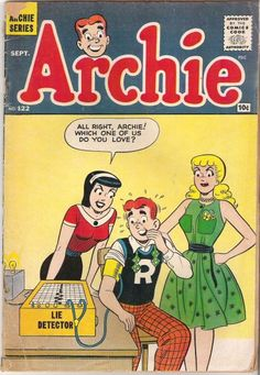 A cover gallery for the comic book Archie Archie Comics Characters, Archie Comic Books, Vintage Comic Books, Comic Book Characters, Vintage Comics, Comic Character, Comic Books Art, Comic Art, Vintage Cartoon