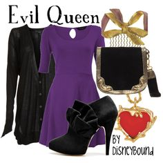 """Evil Queen"" by lalakay on Polyvore   # Pin++ for Pinterest #"