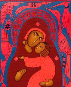 Theotokos contemporary - Anna Makac