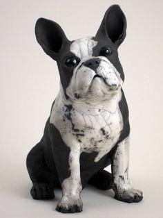 Artist: Ronnie Gould, Title: Boston Terrier