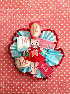 Kewpie Valentine, Lisa Kettell Designs | MoonfairesWorld - Seasonal on ArtFire