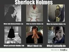 What Sherlock actually does...