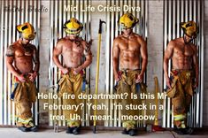Firemen, come help save me with your hot men, I mean professionals. BTW thank you to all those who help others for a living! #sexy #hot # fire #good looking men
