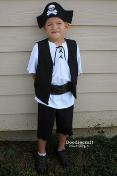 Doodlecraft: Simple Pirate Costumes!                                                                                                                                                                                 More