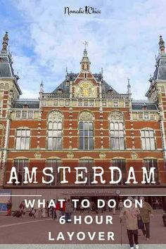 How to Spend your stopover in Amsterdam City Center. When I have a scale and I can go around the city , I always prefer to get out and see a bit earlier to Amsterdam What To Do, Amsterdam City, Amsterdam Travel, Amsterdam Netherlands, Toddler Travel, Travel With Kids, Family Travel, Europe Travel Guide, France Travel