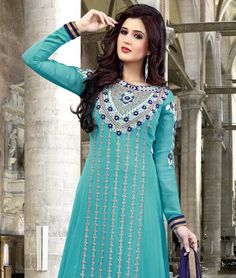Bring in more vibrancy and look amazingly beautiful in all new ethnic avatar with fashionandyou.com as it brings to you a lavish collection of fabulous suits by Mayah. Exhibiting exquisite craftsmanship and amazing colours, each piece from this line is pure joy for all aspiring and reigning Fashion Queens. So flaunt it with style.BRAND: MayahCATEGORY: Unstitched Suit with DupattaARTICLECOLOURMATERIALLENGTHTopGreenFaux Georgette2.50 metersBottomVioletShantoon2.25…