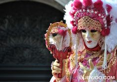 Venice Carnival Costumes   Pink Costume, Venice Carnival 2011