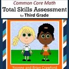 Common Core Math Total Skills Assessment is a collection of math problems targeted toward specific Common Core standards for the third grade.  Work...