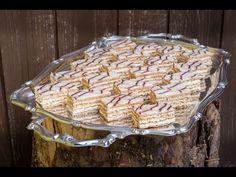 Cukrářský poklad zvaný Esterházy řezy Jany Sovové - YouTube Cake Cookies, Tiramisu, Deserts, Food And Drink, Pie, Sweets, Baking, Foods, Youtube