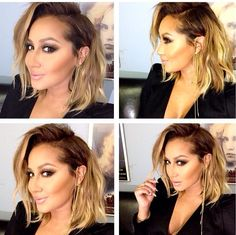Adrienne Bailon...cute hair @KortenStEiN