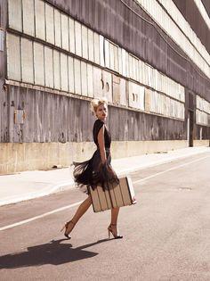 Karolina Kurkova is Movie Star Glam for Vogue Mexicos June Cover Shoot
