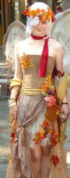 Autumn Faerie Costume