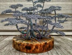 Wire Crafts, Diy Home Crafts, Wire Trees, Agaves, Metal Tree, Handmade Wire, Wire Art, Copper Wire, Creative Art