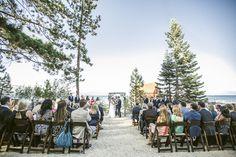 Lakefront Beach Wedding on Lake Tahoe