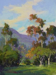 California Style by Kim Lordier Pastel ~ 16 x 12
