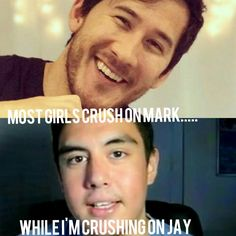 Most girls crush on Mark... While I'm crushing on Jay(Kubz Scouts) Who else can relate?