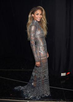 3 Ciara Wears Michael Costello, Naeem Khan, Roberto Cavalli, and More to Host the 2016 Billboard Awards