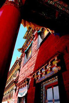 Tagong Monastery . Tibet