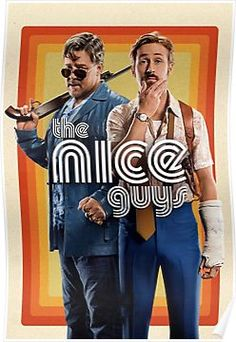 New trailer and poster for THE NICE GUYS starring Ryan Gosling, Russell Crowe, Kim Basinger, Matt Bomer and Margaret Qualley. Streaming Hd, Streaming Movies, Hd Movies, Movies Online, Movie Tv, Movies Free, Action Movies, Action Film, Netflix Online