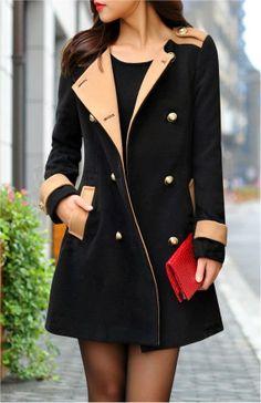Lovely Black Long Coat