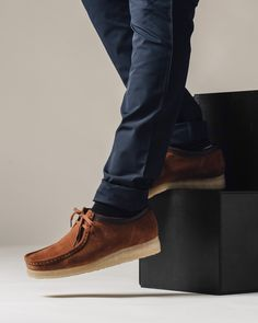 low priced 28f95 567a7 Clarks Wallabee