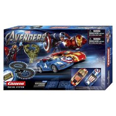 Carrera Marvel The Avengers Battery Operated Car with Racetrack