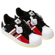 Mickey Superstar shoes- Jesse might need these for his bday!