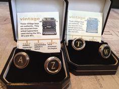 Vintage Typewriter Cuff Links   watsonkennedy.com