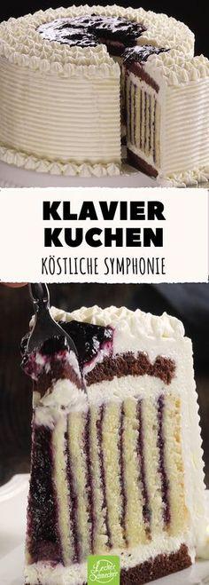 Diese gerollte Torte schmeckt wie eine Symphonie!