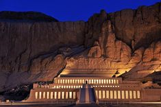 Hatshepsut Temple One of the most beautiful temples around the world, built by the great pharaoh Hatshepsut to commemoration her region life, and surpass the others in elegance and grandeur, she ornamented her temple with her great achievements. #Travel