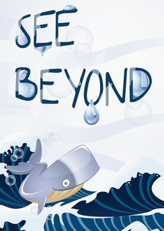 See beyond by Alba Del Castillo, via Behance