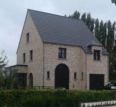Buitenkant huis on pinterest ramen verandas and villas - Uitbreiding stenen huis ...