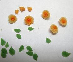tutorial for making cold porcelain roses and a recipe for making your own cold porcelain for molding/sculpting