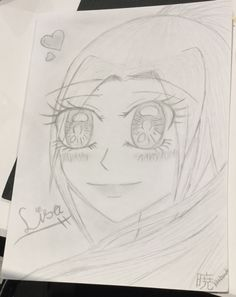I am currently in Melbourne and so it is night time here. I went to a resturant for dinner and the waitress saw me draw. She asked me if i could draw her, i was shocked and was like yea ok sure i can try. I drew her picture in anime form and gave it to her. She was so happy and told me her fellow work mates were jealous. My signature is on the bottom and on the back i gave her my DA, Pinterest and Insta name so she could follow me. Strange encounter but i was happy that she likes my art…