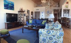 Make yourself comfortable in your spacious Abaco Club Home living room. www.abacoclubhomes.com