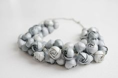 Check out this item in my Etsy shop https://www.etsy.com/listing/179761605/silver-floral-necklace-silver-dream