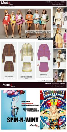 fashion trends SS 2019!!! Spin-N-Win with Modacable!!! Your customized collection consultation only till July 15th!!! Start following us on Pinterest and enter the competition!!
