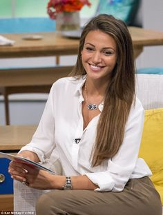 In demand: On Tuesday Michelle appeared on Lorraine Live