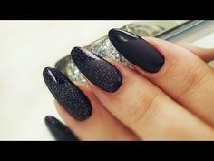 Matte Top Coat Nail Art - Three Elegant Designs - YouTube