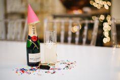 White Elephant Designs | Monogrammed Champagne Glasses