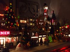 This is part of our annual Christmas village.