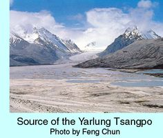 Pictures of Yarlung Tsangpo in western China River Pictures, Shangri La, Waterfalls, Rivers, Lakes, Mount Everest, China, Mountains, Nature