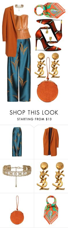 """drifting"" by johanna-dn on Polyvore featuring Hermès, Haider Ackermann, New Look, Yves Saint Laurent, Tom Ford and Hunting Season"