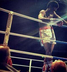 First-Look At Usher As Sugar Ray Leonard In Roberto Durán Biopic 'Hands of Stone'