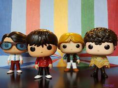 Monkees Pop Vinyl Set 2: Rainbow Room Series (2016) Michael Nesmith, Davy Jones, Peter Tork, and Micky Dolenz